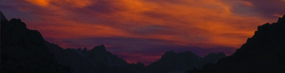 Mt Whitney Sunset